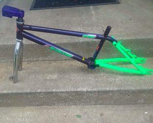 Auburn BMX Frame made by GT Bikes