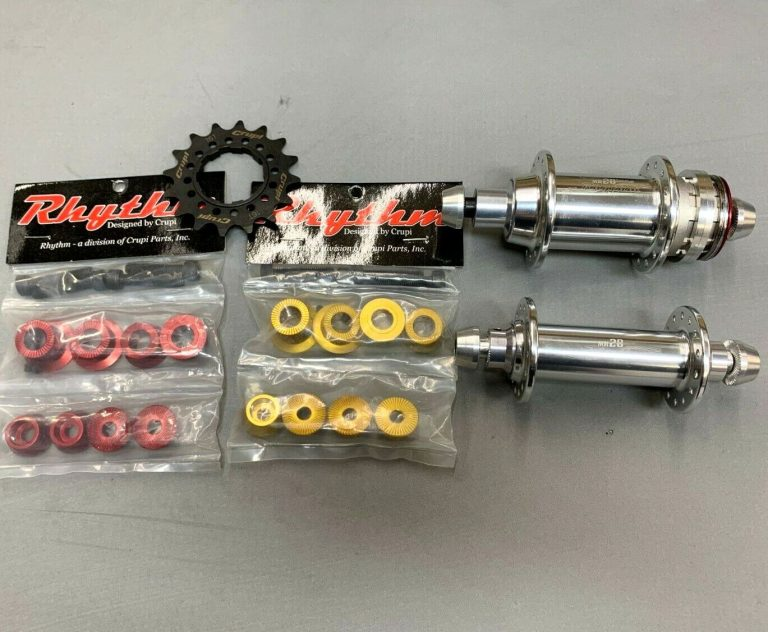 Crupi MR28 Scandium Rhythm BMX Racing Hub Set