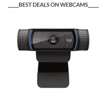 Best Deal on Webcams