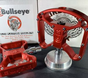 Bullseye BMX pedals sealed bearing crupi usa