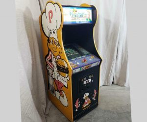 BurgerTime vintage arcade game Bally Midway