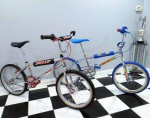 Elf and GT Vintage BMX Bikes