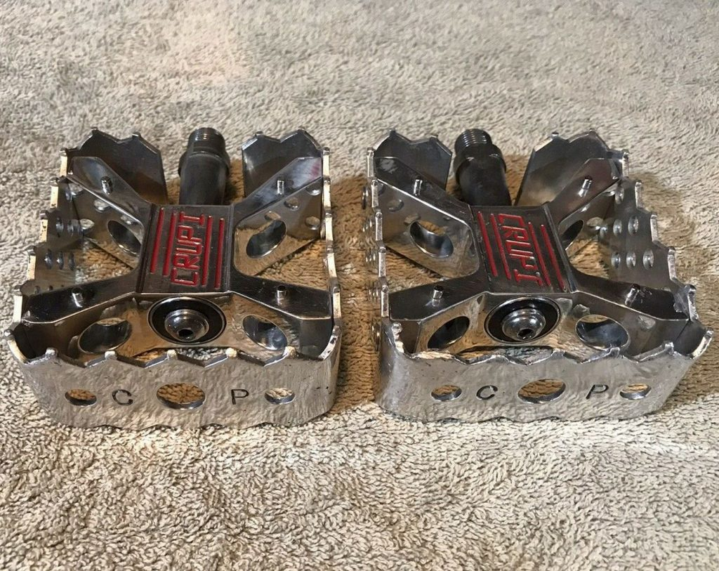 Old School Bmx Crupi Pedals Polished