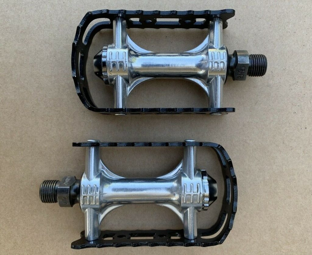 KKT Lightning Old School BMX Pedals black.