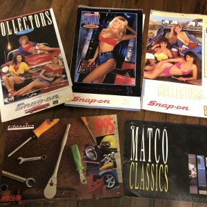 Snap-on Tools calendar pin up girls